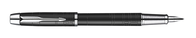 IM Premium Matte Black Fountain Pen - Medium stainless steel nib