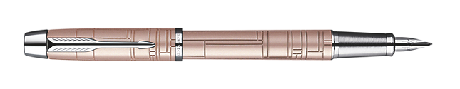 IM Premium Metallic Pink Fountain Pen - Medium stainless steel nib