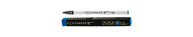 Parker 5THTM Refill - Blue medium nib