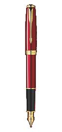 Sonnet Red - Fine Stainless Steel nib