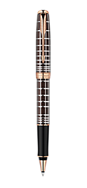 Sonnet Brown Rubber Lacquer Rollerball