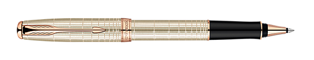 Sonnet Chiselled Silver Rollerball