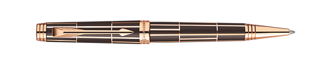 Premier Luxury Brown Ballpoint