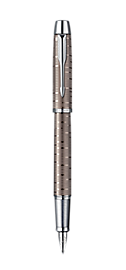 IM Premium Brown Shadow Fountain pen - Medium stainless steel nib