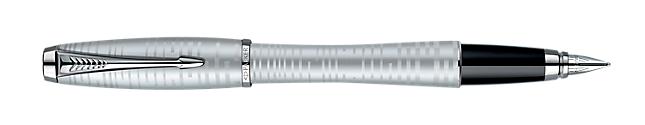 Urban Premium Silver-Blue Pearl Fountain Pen - 50% OFF