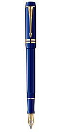 Duofold Lapis Lazuli International Fountain Pen - Fine 18k gold nib