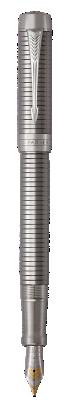 Parker JP の デュオフォールド プレステージ ルテニウムチーゼルCT センテニアル 万年筆 の画像