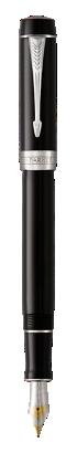 Image pour Duofold Classique Noir Stylo-plume - Plume moyenne à partir de Parker FR