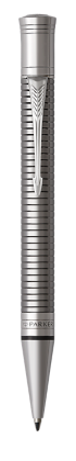 Parker JP の デュオフォールド プレステージ ルテニウムチーゼルCT ボールペン の画像