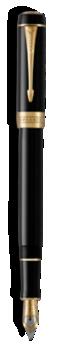 Duofold Classique Noir Stylo-plume - Plume fine