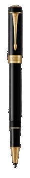 Duofold Classic Black Rollerball Pen - Fine  nib
