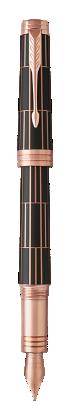 用于 Parker China 中 首席豪华巧克力玫瑰金夹墨水笔 的图像