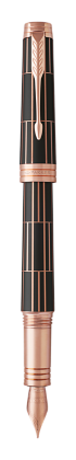 Image for Premier Luxury Brown Fountain Pen - Medium nib from Parker UK