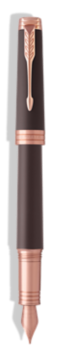 Stylo-plume Premier Soft Marron - Plume moyenne