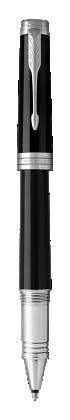 用于 Parker China 中 首席纯黑丽雅白夹宝珠笔 的图像