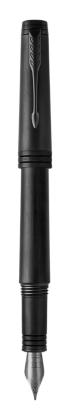Image for Premier Monochrome Black Fountain Pen - Medium nib from Parker UK