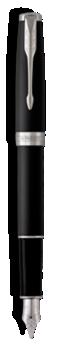 Sonnet Laque Noir Mat Stylo-plume - Plume moyenne