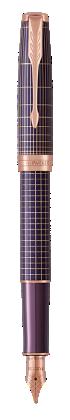 Parker JP の ソネット プレミアム パープルシズレPGT 万年筆 の画像