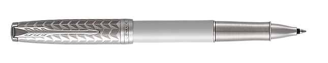 Sonnet Lacquered Metallic Pearl Rollerball Pen With Chrome Trim Fine Point