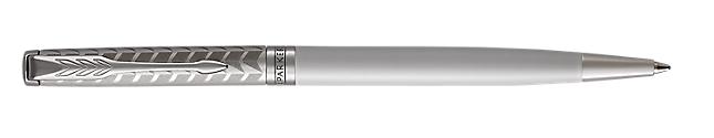 Sonnet Lacquered Metallic Pearl Retractable Ballpoint Pen With Chrome Trim Medium Point