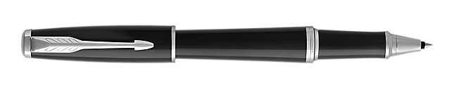 Urban London Black Cab Rollerball Pen With Chrome Trim Fine Point
