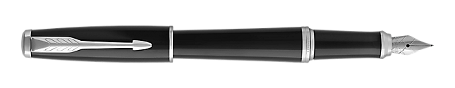 Urban London Black Cab Fountain Pen With Chrome Trim Fine Nib