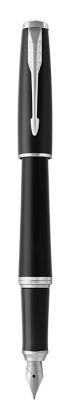 Image pour Stylo-plume Urban Noir Feutré finition chrome - Plume moyenne à partir de Parker FR