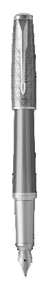 Image pour Stylo-plume Urban Premium Gris Métallique - Plume moyenne à partir de Parker FR