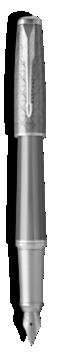Stylo-plume Urban Premium Gris Métallique - Plume moyenne