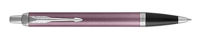 IM Light Purple Retractable Ballpoint Pen With Chrome Trim Medium Point