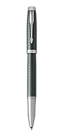 IM Premium Pale Green Rollerball Pen With Chrome Trim Fine Point