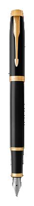 Parker JP の パーカー・IM ブラックGT 万年筆 の画像