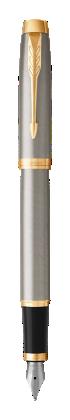 用于 Parker China 中 IM金属香槟金夹墨水笔 的图像