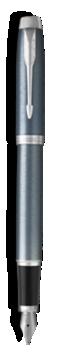 Stylo-plume Parker IM Bleu Gris Clair - Plume moyenne