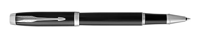 IM Black Chrome Rollerball Pen With Chrome Trim Fine Point