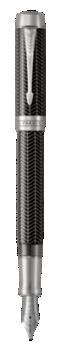 Duofold Prestige Chevron Noir Stylo-plume - Plume fine