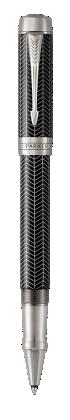 Image pour Duofold Prestige Chevron Noir Rollerball - Plume fine à partir de Parker FR