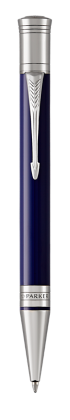 Image for Duofold Classic Blue & Black Ballpoint Pen - Medium nib from Parker UK