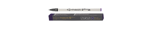 Parker 5THTM Refill Ink For Ingenuity Pen Medium Nib In Purple