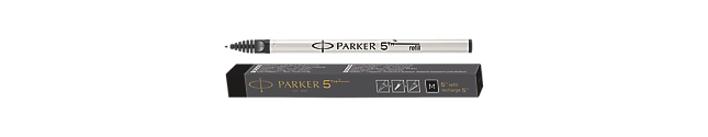Parker 5THTM Refill Ink For Ingenuity Pen Medium Nib In Black