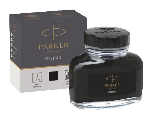 Image for Quink Bottle - Black ink from Parker UK