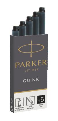 Image pour Cartouche Quink - Encre noire à partir de Parker FR