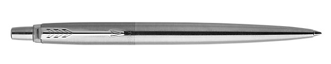 Jotter Stainless Steel Retractable Ballpoint Pen With Chrome Trim Medium Point