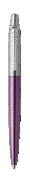 乔特维多利亚紫白夹凝胶水笔 0.55mm 黑色墨水