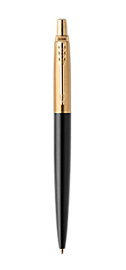 Jotter Premium Bond Street Black Retractable Ballpoint Pen With Gold Trim Medium Point