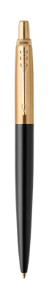 Image for Jotter Premium Bond Street Black Gold Trim Ballpoint from Parker UK