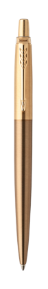 Image for Jotter Premium West End Brushed Gold Ballpoint from Parker UK