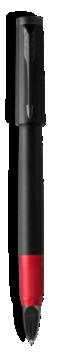 Ingenuity Deluxe Noir et Rouge PVD, Pointe moyenne  - Avec la technologie Parker 5TH