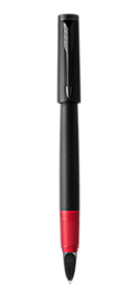 Ingenuity Deluxe Black & Red PVD Parker 5TH<sup>TM</sup> Pen With PVD Trim