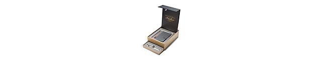 Sonnet Metal & Pearl Chrome Trim 18k Fountain Pen & Premium Notebook Organiser Gift Set - 30% OFF